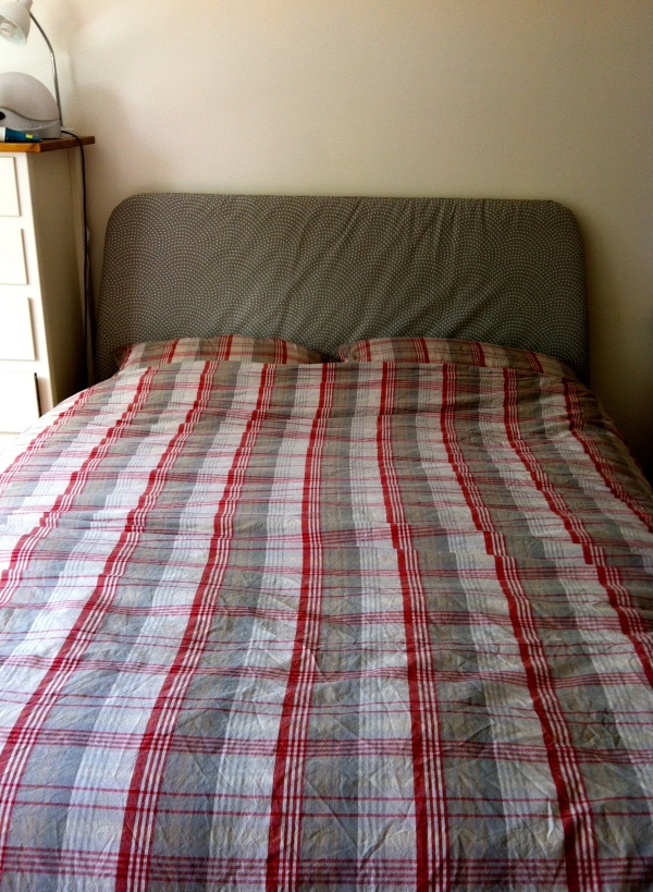 Ikea Duken bed and bedlinen