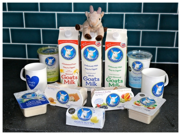 St Helen's Farm goats milk products