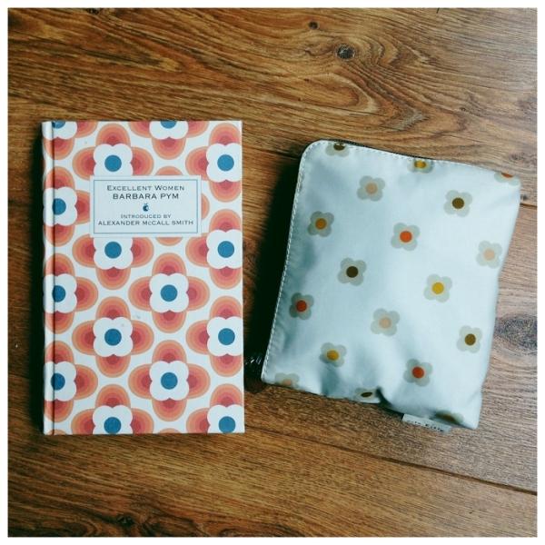 Orla Keily book cover and make-up bag