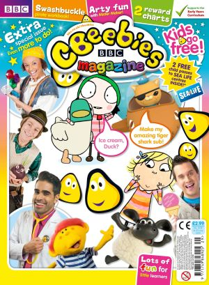 cbeebies kids go free issue cover