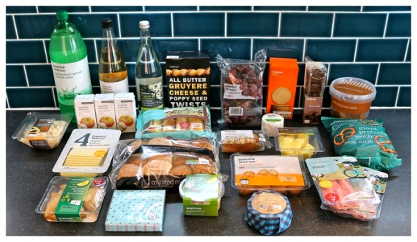 Picnic food from Waitrose
