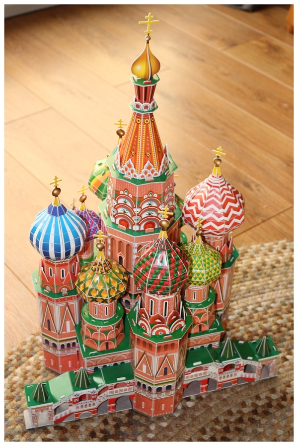 St Basil's Cathedral 3-D Jigsaw