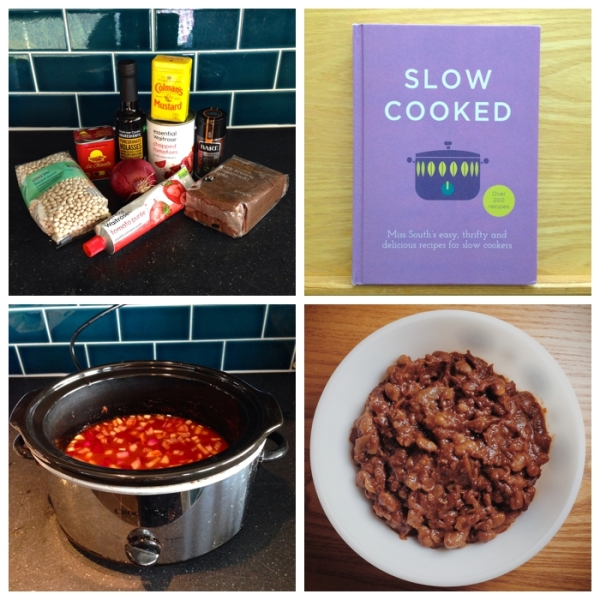 Brixton Baked Beans in the slow cooker
