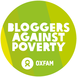 Oxfam Unwrapped Bloggers Badge